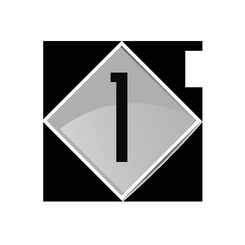 Würfel: 20er-Würfel mit Zahlen - grün